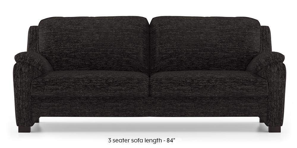 Farina Sofa (Cosmic) (3-seater Custom Set - Sofas, None Standard Set - Sofas, Cosmic, Fabric Sofa Material, Compact Sofa Size, Regular Sofa Type) by Urban Ladder - - 292428