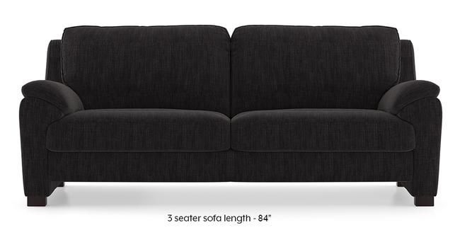 Farina Sofa (Graphite Grey) (3-seater Custom Set - Sofas, None Standard Set - Sofas, Fabric Sofa Material, Regular Sofa Size, Regular Sofa Type, Graphite Grey)