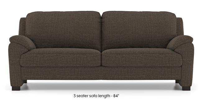 Farina Sofa (Pine Brown) (3-seater Custom Set - Sofas, None Standard Set - Sofas, Fabric Sofa Material, Regular Sofa Size, Regular Sofa Type, Pine Brown)