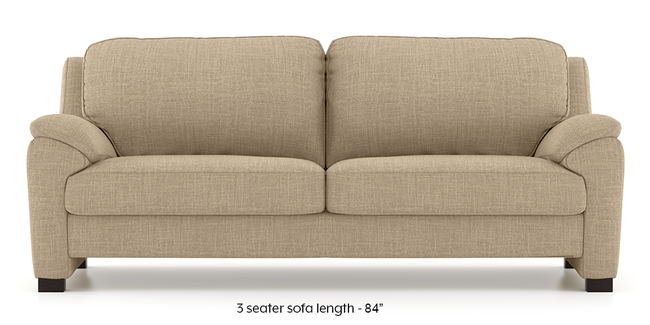 Farina Sofa (Sandshell Beige) (1-seater Custom Set - Sofas, None Standard Set - Sofas, Fabric Sofa Material, Regular Sofa Size, Regular Sofa Type, Sandshell Beige)