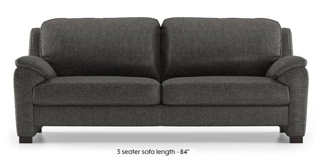 Farina Sofa (Steel Grey) (3-seater Custom Set - Sofas, None Standard Set - Sofas, Steel Grey, Fabric Sofa Material, Regular Sofa Size, Regular Sofa Type)