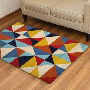 "Ziba Hand Tufted Carpet (91 x 152 cm  (36"" x 60"") Carpet Size) by Urban Ladder"