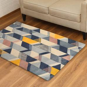 "Zenia Hand Tufted Carpet (91 x 152 cm  (36"" x 60"") Carpet Size) by Urban Ladder"