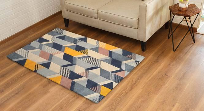 Zenia Hand Tufted Carpet by Urban Ladder