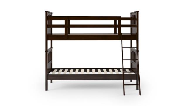 Barnley Bunk Bed (Dark Walnut Finish, Without Storage) by Urban Ladder