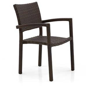 Danum Patio Armchair (Brown) by Urban Ladder