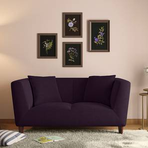 Janet loveseat purple lp