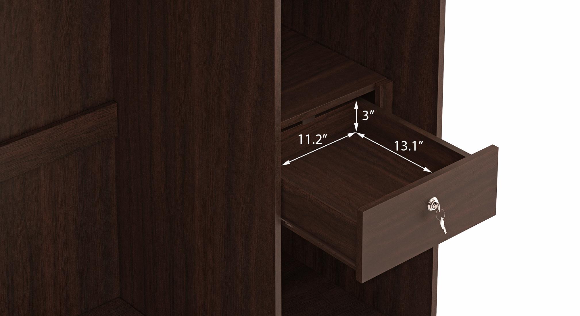 Miller three door two drawer 22