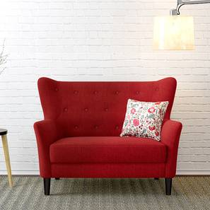 Frida Loveseat (Salsa Red) by Urban Ladder