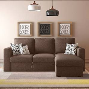 Kowloon sofa bed brown lp