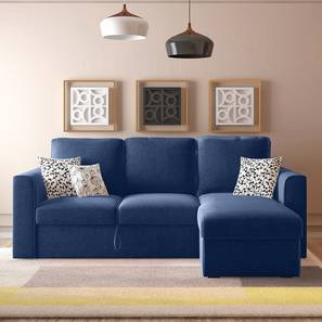 Kowloon sofa bed blue lp