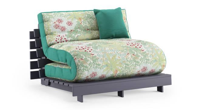 Finn Futon Sofa Cum Bed (Lagoon Green) by Urban Ladder