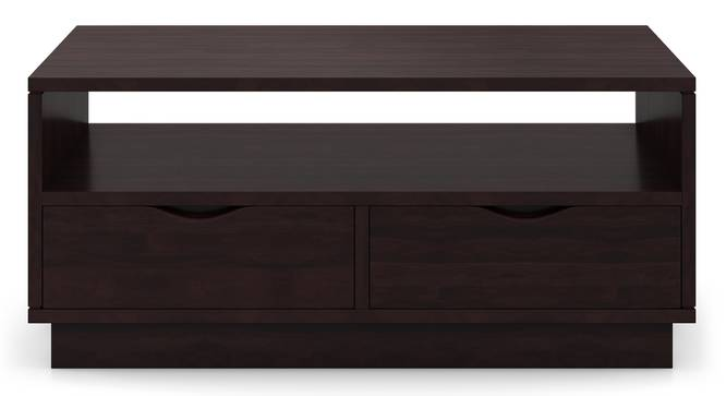 Zephyr Storage Coffee Table (Mahogany Finish) by Urban Ladder