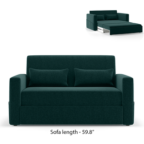 Camden Compact Sofa Cum Bed (Malibu) by Urban Ladder