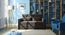 Camden Compact Sofa Cum Bed (Smoke Grey) by Urban Ladder - Full View Design 1 - 295695