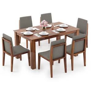 Arabia - Galatea 6 Seater Dining Table Set (Teak Finish) by Urban Ladder - Design 1 Full View - 296244