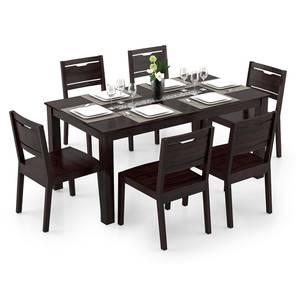 Brighton large aries dining table set mahogany lp