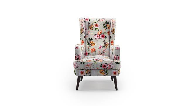 Genoa Wing Chair (Floral) by Urban Ladder - Front View Design 1 - 297358