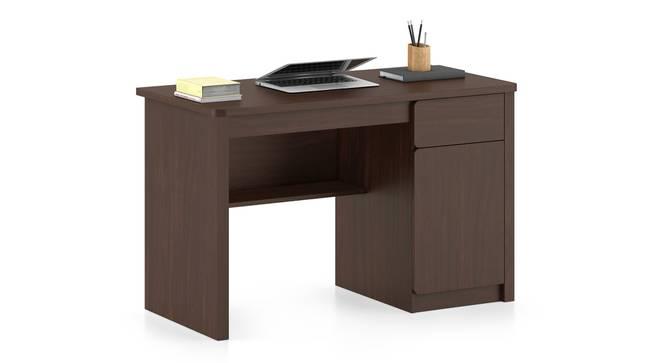 Graham Study Table (Smoked Walnut Finish) by Urban Ladder