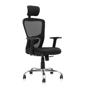 Galen Study Chair (Black) by Urban Ladder