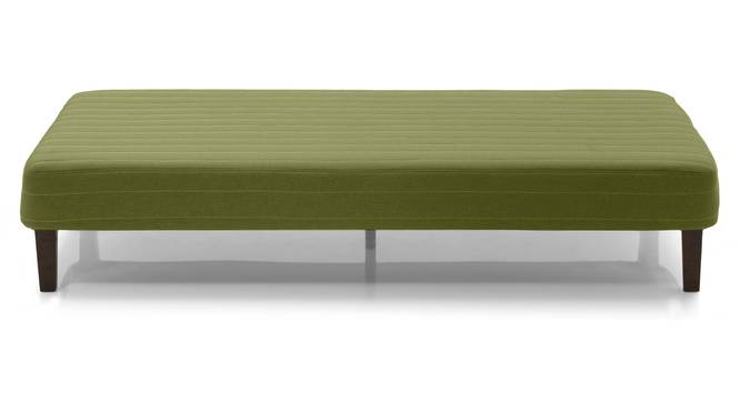 Mou Bed With Mattress (Pistachio Green) by Urban Ladder - Front View Design 1 - 297559