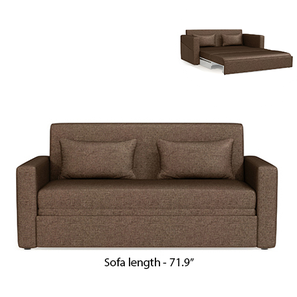Camden sofa bed mocha lp