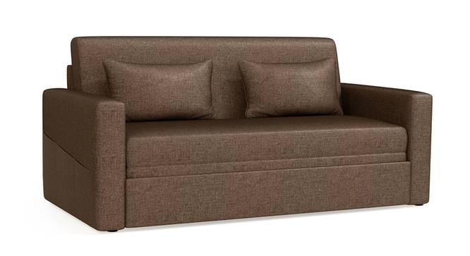 Camden Sofa Cum Bed (Mocha) by Urban Ladder