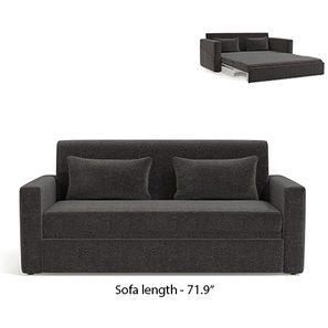 Camden Sofa Cum Bed (Smoke Grey) by Urban Ladder