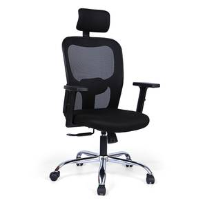 Edmund Study Chair (Black) by Urban Ladder - Design 1 Full View - 297617
