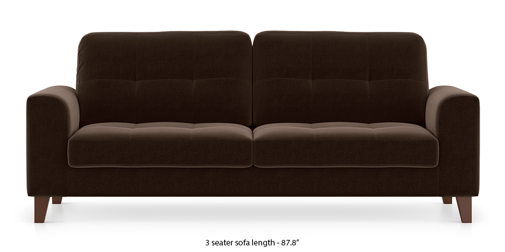 Verona Sofa (Dark Earth) by Urban Ladder