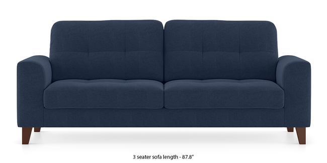 Verona Sofa (Lapis Blue) (2-seater Custom Set - Sofas, None Standard Set - Sofas, Fabric Sofa Material, Regular Sofa Size, Regular Sofa Type, Lapis Blue)