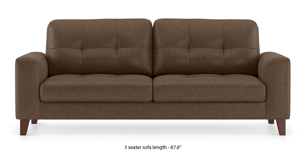 Verona Sofa (Mocha Brown) by Urban Ladder