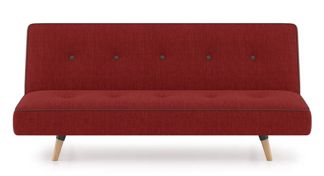 Zehnloch Sofa Cum Bed (Salsa Red) by Urban Ladder