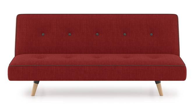 Zehnloch Sofa Cum Bed (Salsa Red) by Urban Ladder
