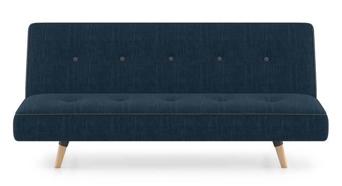 Zehnloch Sofa Cum Bed (Indigo Blue) by Urban Ladder