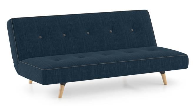 Zehnloch Sofa Cum Bed (Indigo Blue) by Urban Ladder