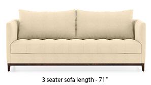 Florence Compact Sofa (Birch Beige)