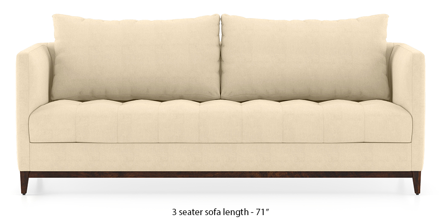Florence Compact Sofa (Birch Beige) by Urban Ladder