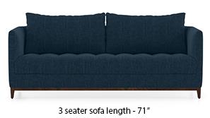 Florence Compact Sofa (Indigo Blue)
