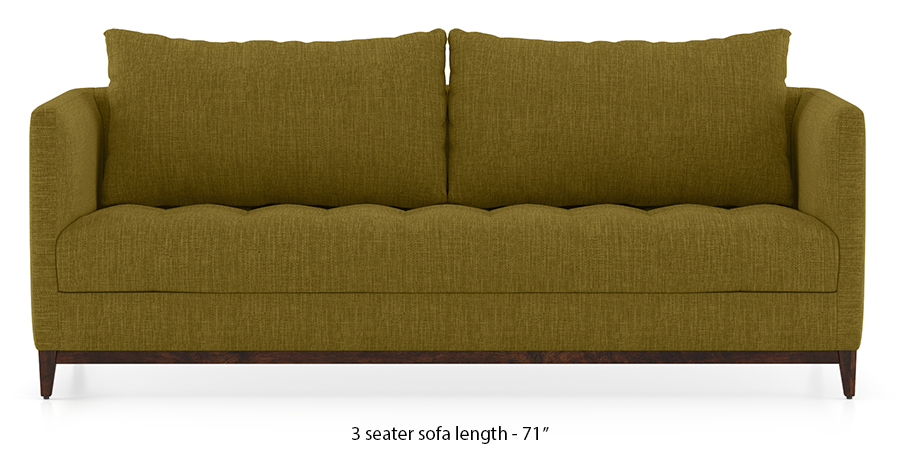 Florence Compact Sofa (Olive Green) by Urban Ladder