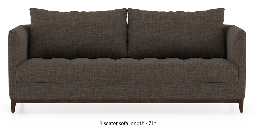 Florence Compact Sofa (Pine Brown) by Urban Ladder