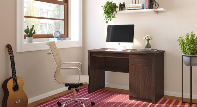 Graham Study Table (Smoked Walnut Finish) by Urban Ladder - Full View Design 1 - 298874