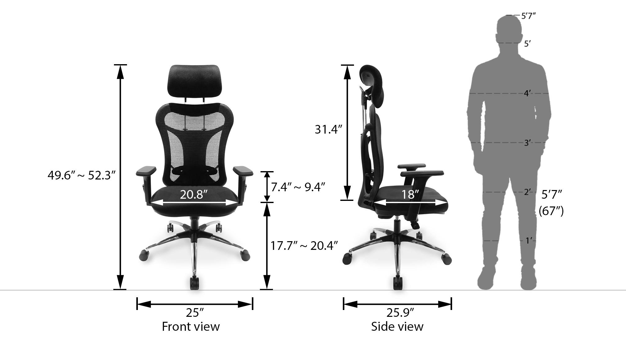 Dewey study chair newdim 34