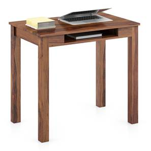 Arabia Study Table (Teak Finish) by Urban Ladder - Design 1 Full View - 298897