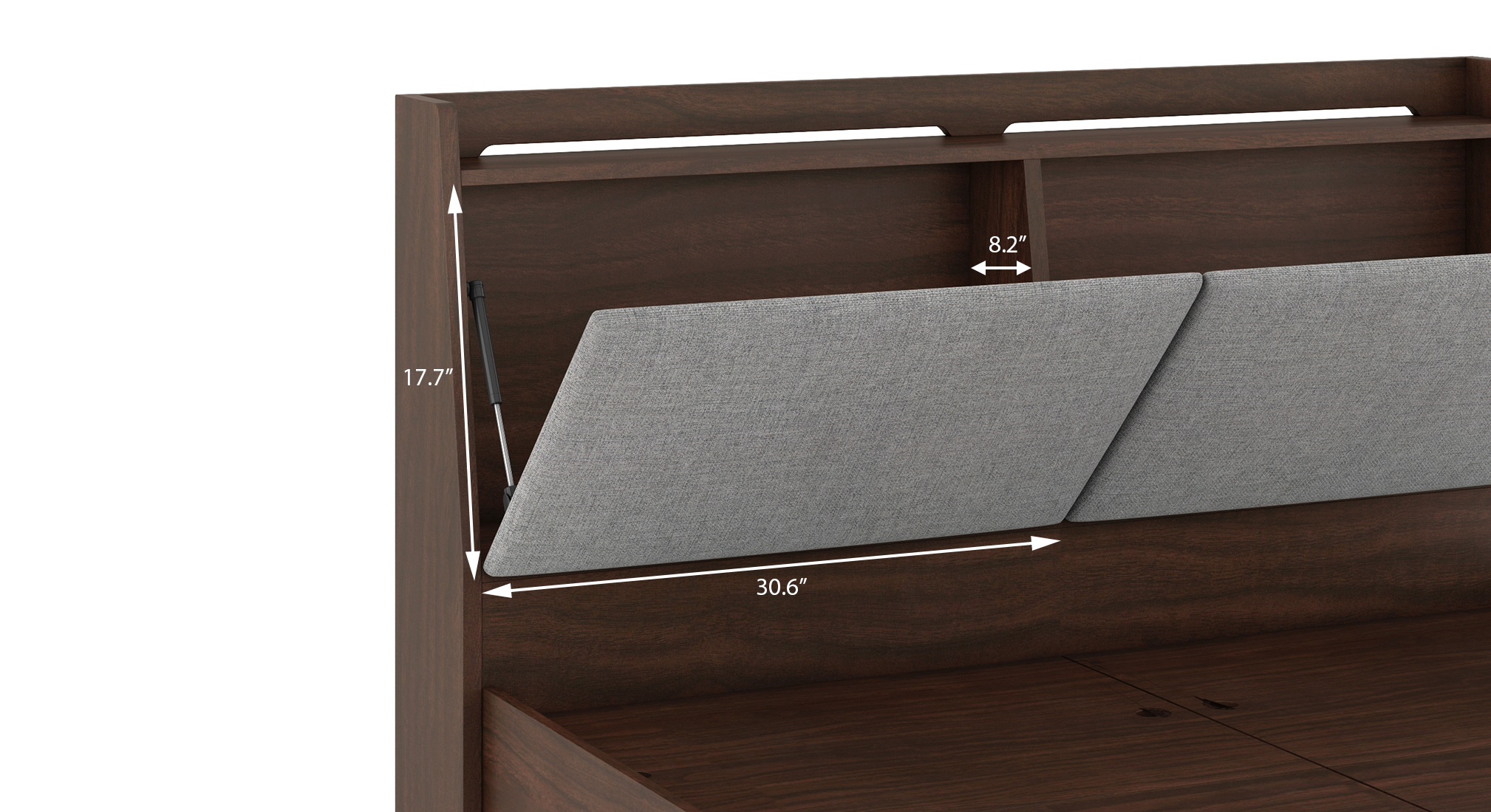 Tyra storage bed queen 6
