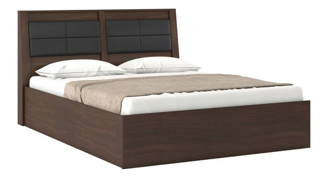 Pico Bed (Queen Bed Size, Smoked Walnut Finish) by Urban Ladder - Half View Design 1 -