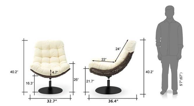 Calabah swivel cream 21