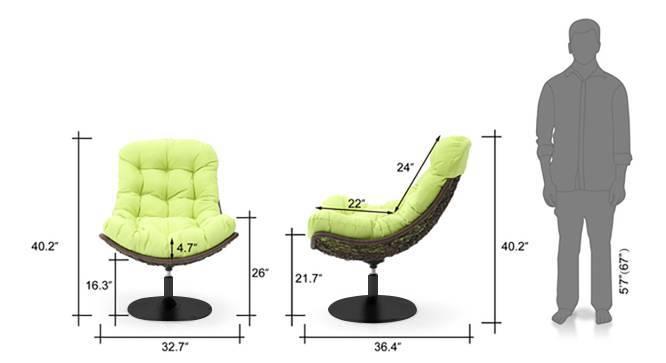 Calabah swivel green 21