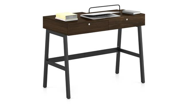 Terry Study Table (English Walnut Finish) by Urban Ladder - Design 1 Full View - 299109