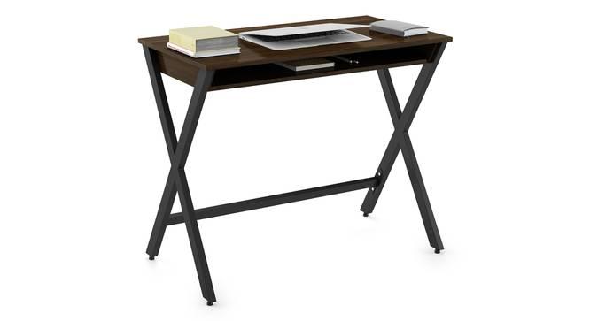 Clarke Study Desk (English Walnut Finish) by Urban Ladder - Design 1 Full View - 299127